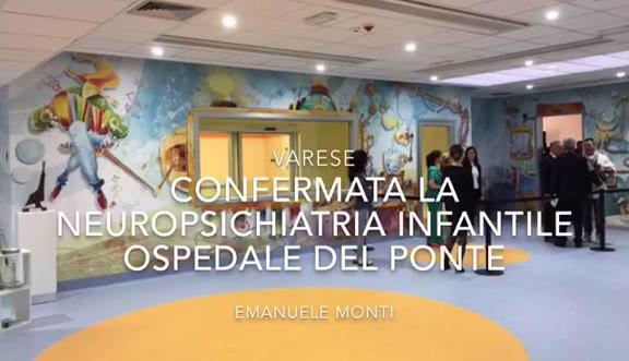 Video: Ospedale del Ponte, da settembre la nuova neuropsichiatria infantile