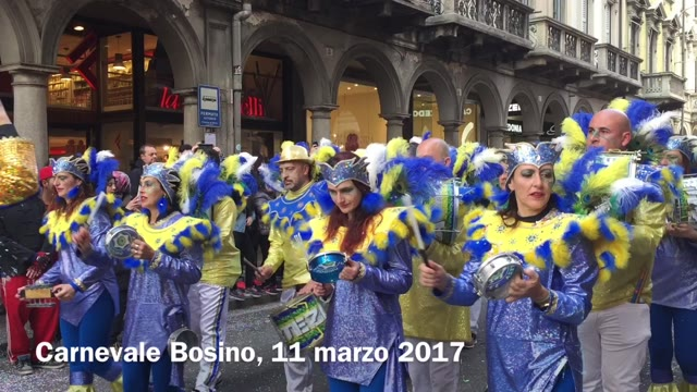 Video: Varese in festa per il Carnevale