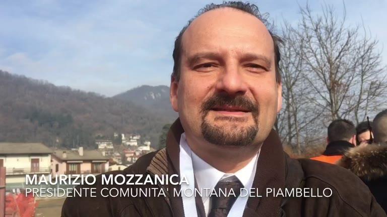 Video: Ferrovia, intervista al presidente della Comunità Montana del Piambello