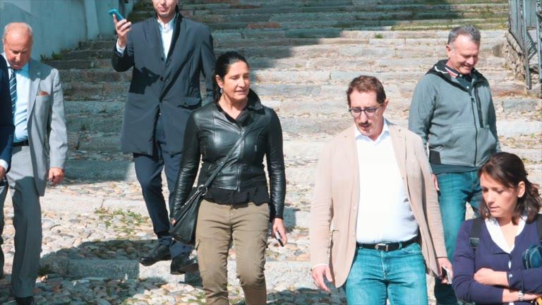 Video: L'assessore regionale al turismo in visita al Sacro Monte