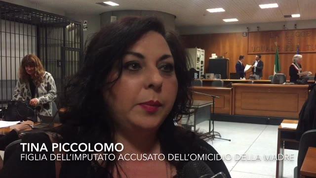 """Video: Tina Piccolomo: """"Adesso si faccia giustizia"""""""