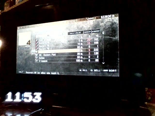 PlayStation Portable - Gods Eater Burst - Difficulty 8 - Dark Wing - Fastest Time - 01:49.0 - Brandon Finton