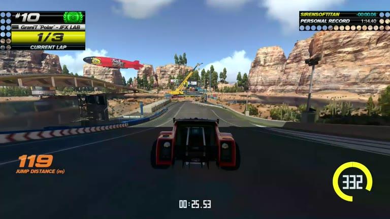 PlayStation 4 - Trackmania Turbo - White Series 10 - Fastest Time - 01:14.06 - Shaun Michaud