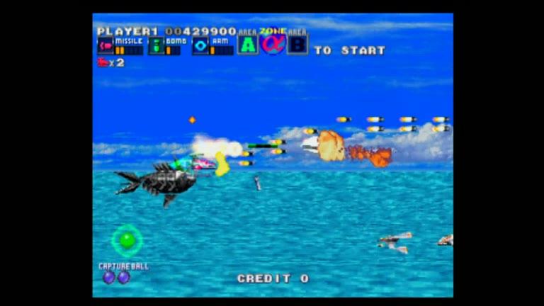PlayStation 2 - Taito Legends 2 - NTSC - G Darius [Points] - 3,013,870 - Pete Hahn