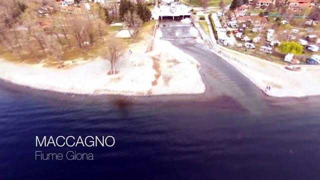 Video: Il letto del Giona visto dal drone