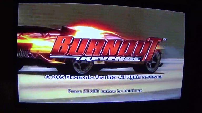 PlayStation 2 - Burnout Revenge - PAL - Burning Lap - Lone Peak - Reverse [Fastest Lap] - 01:16.49 - john brissie