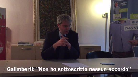 """Video: Galimberti: """"È il centrodestra che ha tentato accordi"""""""