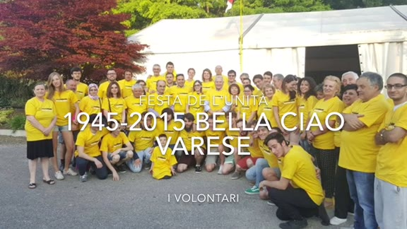 Video: 1945- 2015 Bella Ciao, Varese