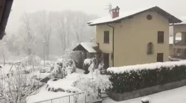 Video: La neve a Gemonio