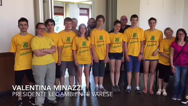 Video: Volontari da tutto il mondo con Legambiente a Carnago