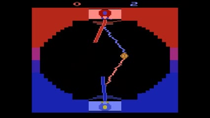 Atari 2600 / VCS - Star Wars: Jedi Arena - EMU - Game 1, Difficulty A - - 3 - Matthew Felix