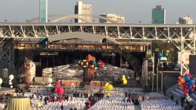 Video: Expo 2015, le prove della cerimonia di chiusura