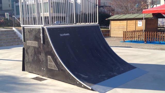Video: Lo skatepark di Varese