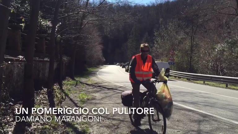 Video: Rifiuti, un pomeriggio sulle strade della Valganna
