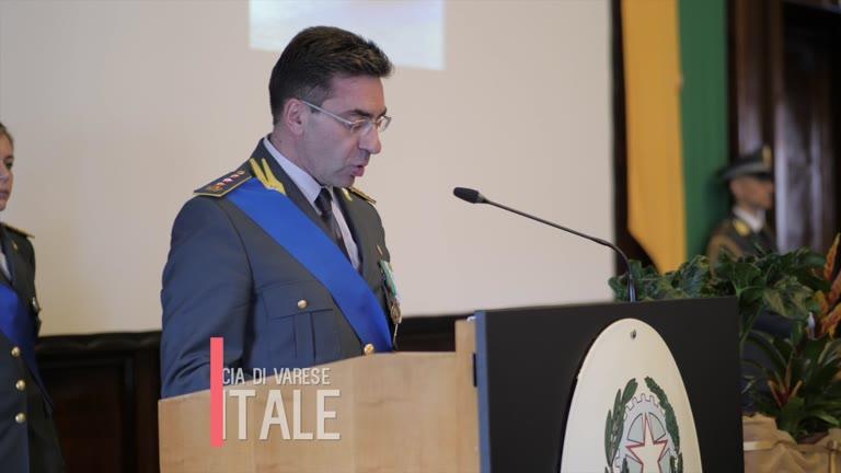 Video: Il discorso del comandante Vitale alla festa della Gdf