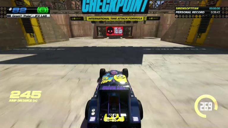 PlayStation 4 - Trackmania Turbo - Blue Series 82 - Fastest Time - 39.36 - Shaun Michaud