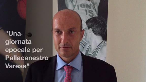 """Video: """"Una giornata epocale per la Pallacanestro Varese"""""""