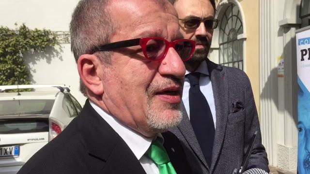 """Video: Il Presidente Maroni presenta il progetto """"contropiede"""" per la legalità"""