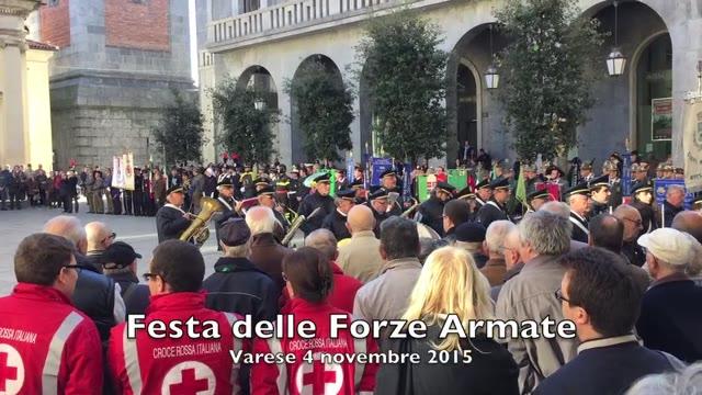 Video: La Giornata delle Forze armate a Varese