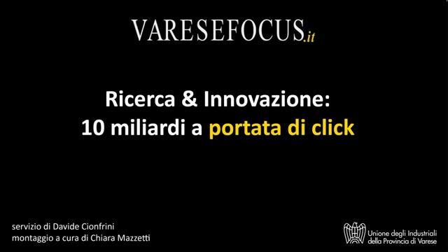 Video: Ricerca e innovazione