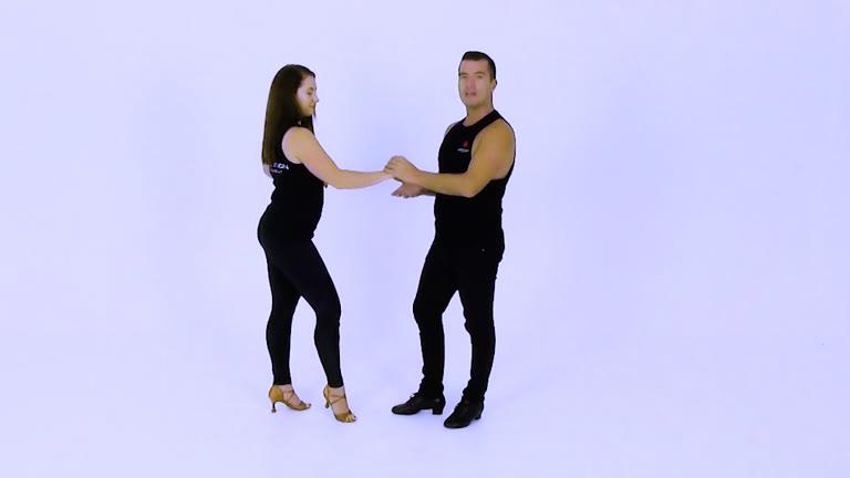 S179 Salsa Beginners - arm drop