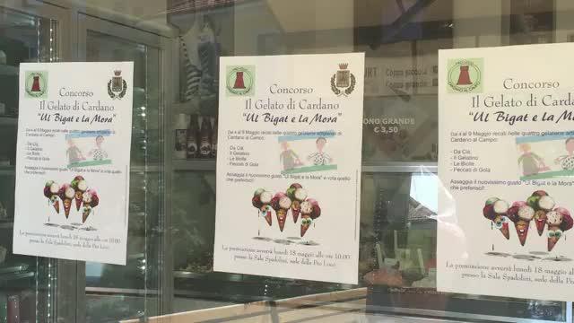 Video: Concorso fra gelatai a Cardano