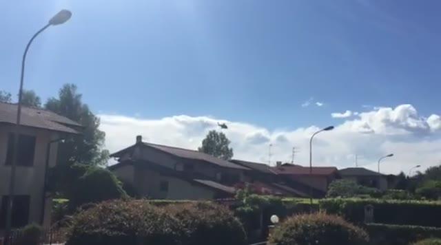 Video: L'elisoccorso a Casciago