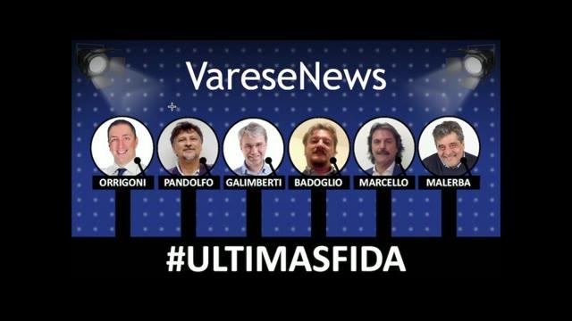 Video: L'ultima Sfida, tutto il confronto tra i candidati sindaco di Varese