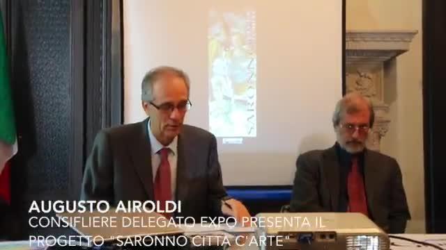 """Video: Saronno diventa """"Città d'Arte"""" per Expo"""