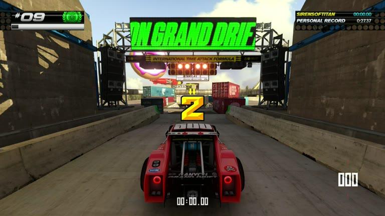 PlayStation 4 - Trackmania Turbo - White Series 09 - Fastest Time - 27.27 - Shaun Michaud