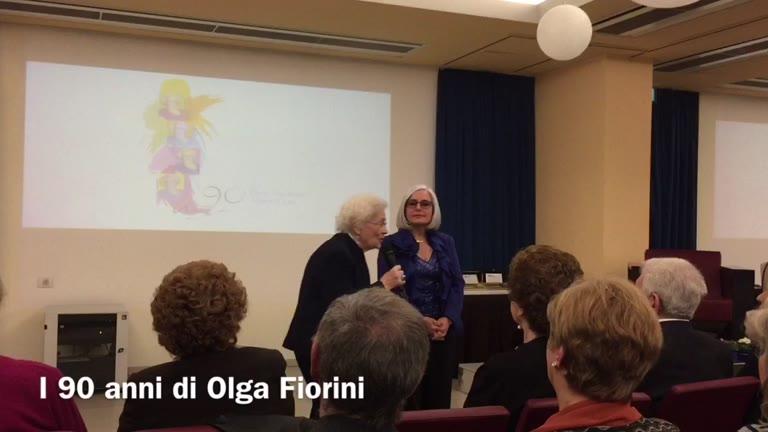 Video: I 90 anni di Olga Fiorini