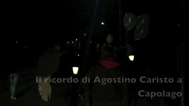 Video: Palloncini e candele per Agostino