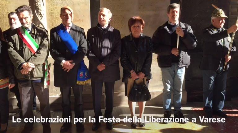 Video: Il 25 Aprile a Varese