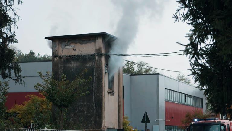 Video: Esplode cabina dell'Enel, Cascine Maggio senza elettricità
