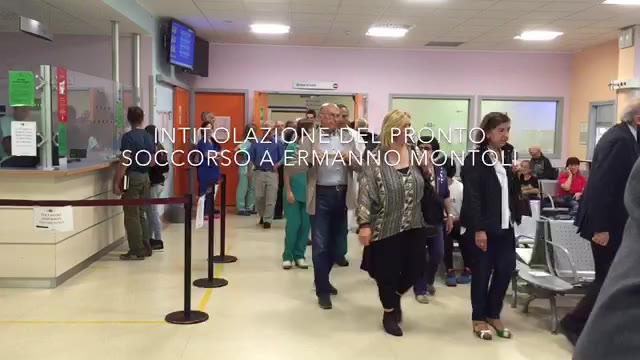 Video: Intitolato a Ermanno Montoli il pronto soccorso
