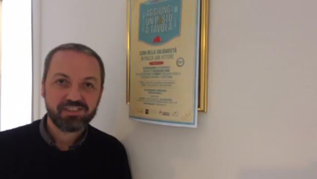Video: Aggiungi un pAsto a tavola: l'appello di don Marco Casale