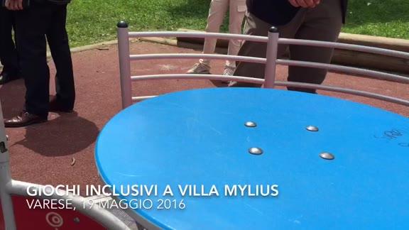 Video: Una giostrina proprio per tutti a villa Mylius