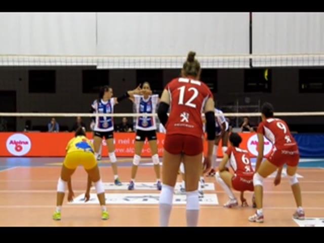 Video: La Unendo Yamamay vince contro Bergamo nel trofeo Bellomo