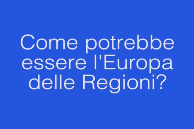 Video: Come sarebbe l'Europa delle Regioni?