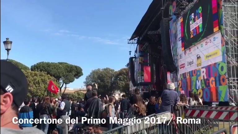 Video: Concertone del Primo Maggio a Roma, le interviste
