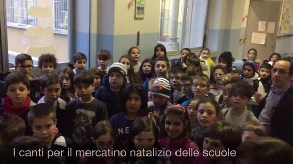 Video: Aperto il mercatino natalizio delle scuole di Abbiate