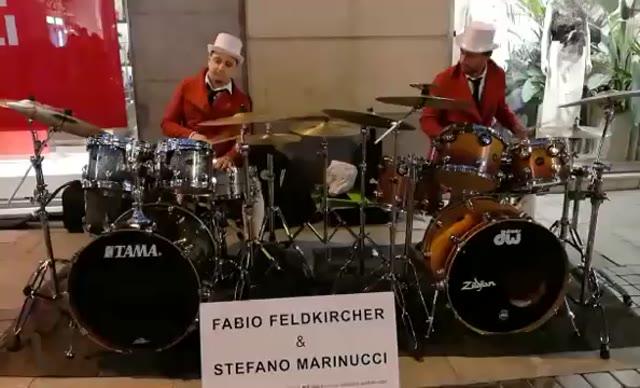 Video: Fabio Feldkircher e Stefano Marinucci a Sanremo