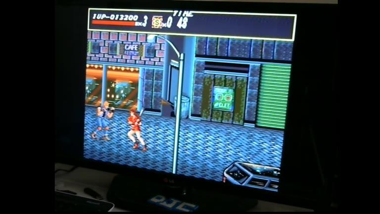 Sega Genesis / Sega Mega Drive - Streets of Rage - NTSC - Points - 300,500 - Derek Camin