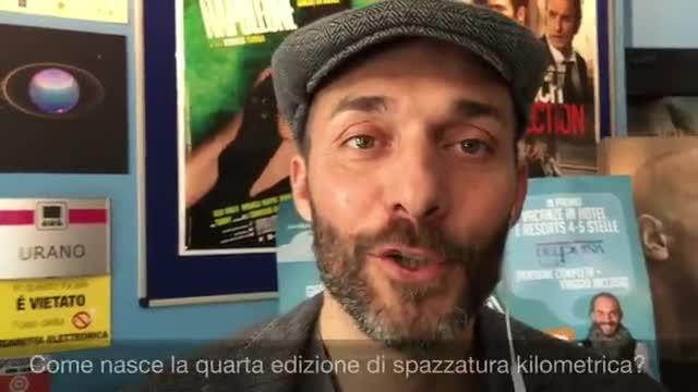 Video: Max Laudadio presenta spazzatura kilometrica 2015