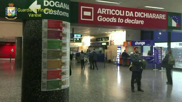 """Video: Guardia di Finanza Malpensa: conclusa l'operazione """"Sparkling fraud"""""""