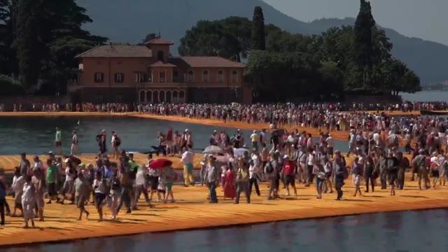 Video: 1,5 milioni di persone per The Floating Piers