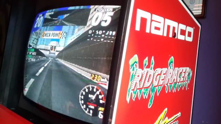 Arcade - Rave Racer - Ridge Racer Short - Fastest Lap - 50.627 - Jason Newman