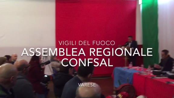 Video: Vigili del fuoco in assemblea