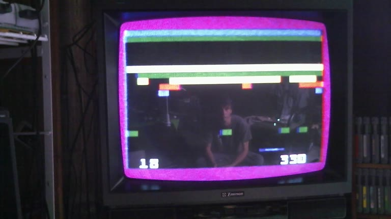 Intellivision - Brickout - NTSC/PAL - Default Settings - 2,382 - Roger 111