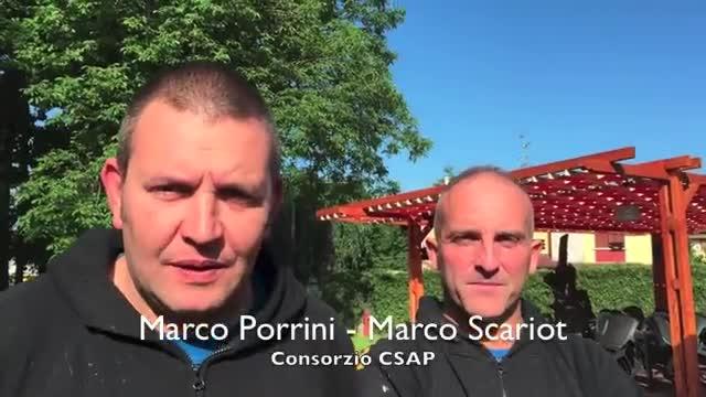 """Video: Il """"nuovo"""" parco a Cardano al Campo"""